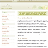 Rambling Soul 3 Template