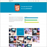 responsive ux template