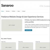 Sanaroo Template