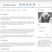 Scotch mark Template