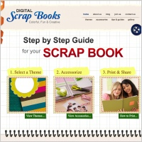 Scrap Books Template