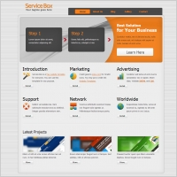 Free download html website templates free website templates for free service box maxwellsz