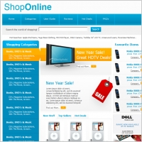 Shop Online Template