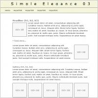 Simple Elegance 03 Template