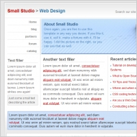 Small Studio Template