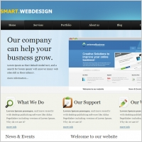 Smart Web Design Template