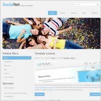 Social Net Template