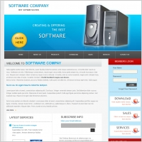 Software Company Template