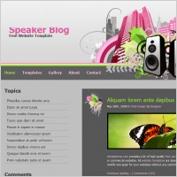 Free blog template free website templates for free download about ...