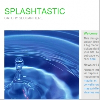 Splashtastic Template