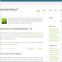 Standard Issue 1.0 Template