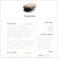 Stepping Stone Template
