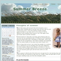 Summer Breeze Template