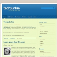 Tech Junkie 1.0 Template