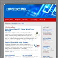 Technology Blog Template