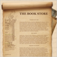 online book shop free website templates for free download about 6
