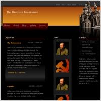 The Brothers Karamazov Template