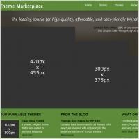 Theme Marketplace Template