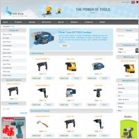 Tools Shop Template