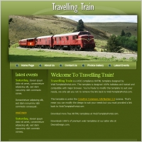 Travelling Train Template