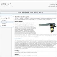Ultra 77 Template