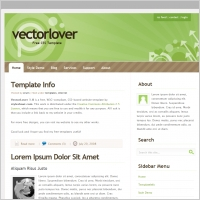 Vector Lover 1.0 Template