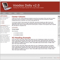 Voodoo Dolly v2.0 Template