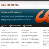 Web Application Template