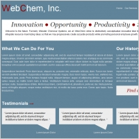 Web Chem Inc. Template