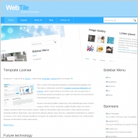 Web Tile Template