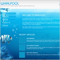 Whirl pool Template