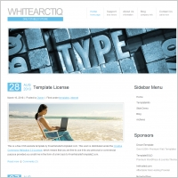 White Arctiq Template