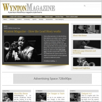 Wynton Magazine Template