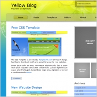 yellow blog