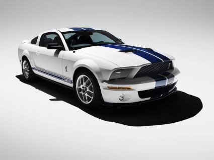 2007 Ford Shelby GT500 White