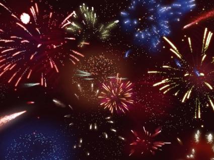 2008 FireWorks Wallpaper Fireworks Other
