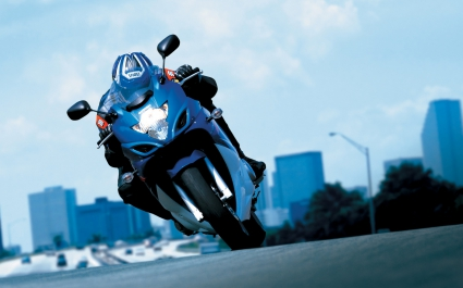 2008 Suzuki GSX 650F Action