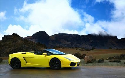 2009 Lamborghini Gallardo LP560 4 Spyder 4