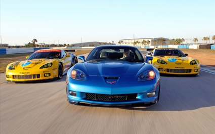 2010 Corvette Racing Sebring Cars