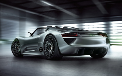 2011 Porsche 918 Spyder 2