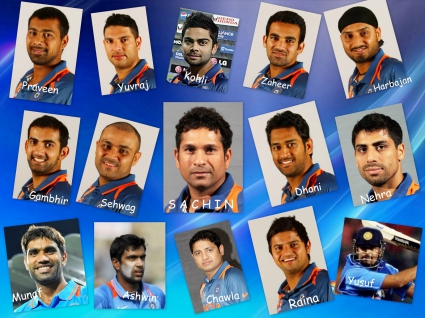 2011 Team India World Cup