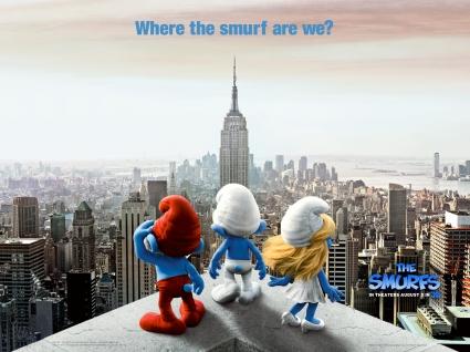 2011 The  Smurfs Movie