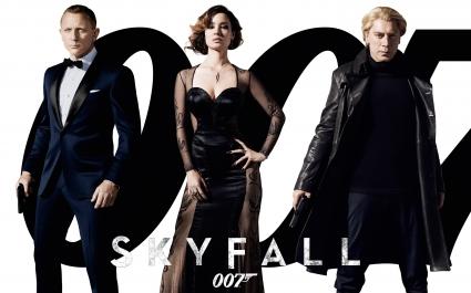 2012 Bond Movie Skyfall