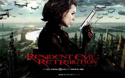2012 Resident Evil 5 Retribution