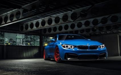 2015 Vorsteiner BMW Yas Marina Blue GTRS4 Anniversary Edition