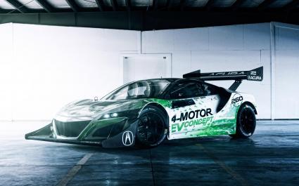 2016 Acura NSX EV Concept Car