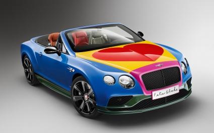 2016 Bentley GT Sir Peter Blake Pop Art