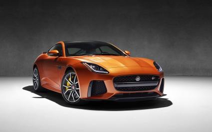 2017 Jaguar f type SVR
