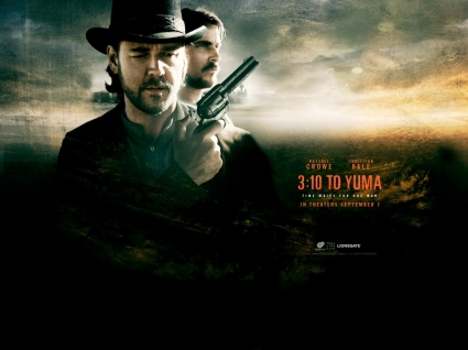 3 10 to Yuma Movie Wallpaper 3 10 to Yuma Movies