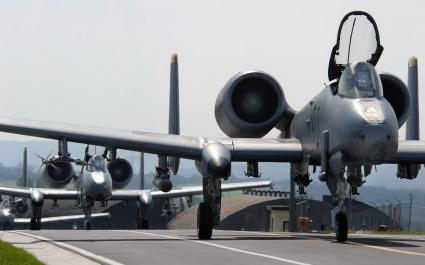 A 10 Thunderbolt II Aircrafts